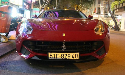 Cường Đô La mua siêu xe Ferrari F12 Berlinetta