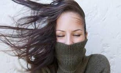 Cách chăm sóc mái tóc trong mùa đông