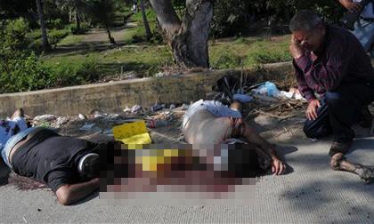 Phát hiện 9 thi thể bị chặt đầu bên vệ đường