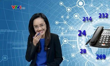 MC Hoài Anh khiến khán giả hoảng hồn khi bật cười trên sóng Thời sự trực tiếp