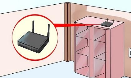 Mẹo đặt bộ phát Wifi trong nhà tăng gấp đôi sóng Wifi