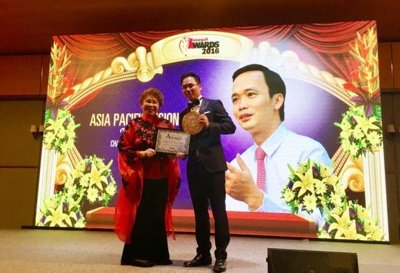 FLC lập hat trick giải thưởng golf châu Á   Thái Bình Dương 2016