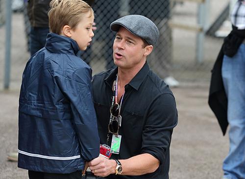 Brad Pitt lần đầu được gặp con sau vụ ly hôn 1
