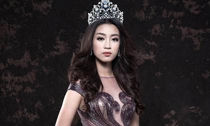 Hoa hậu Đỗ Mỹ Linh biến hóa yêu kiều với đầm dạ hội