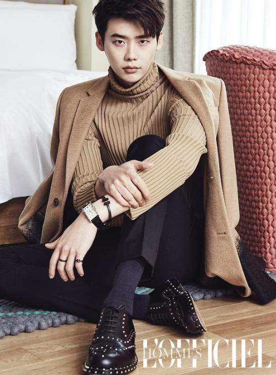 Lee Jong Suk khoe style thu sành điệu 8