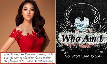 Phạm Hương tuyên bố chuyển sang chơi Instagram sau khi bị hacker lấy Facebook