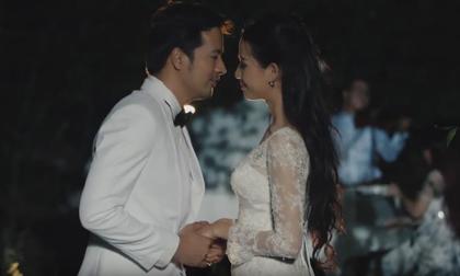 Phan Thị Mơ rạng ngời bên Đoàn Thanh Tài trong TVC Triển lãm cưới Rustic Melody