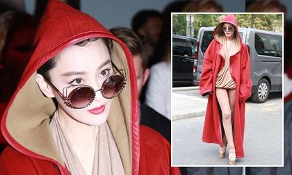 'Tình địch' Phạm Băng Băng mặc lố bịch ở Tuần lễ Thời trang Paris