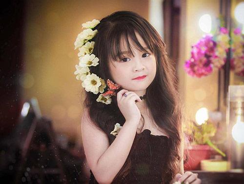 Bé gái Tuyên Quang như thiên thần  0