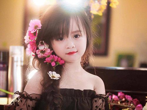 Bé gái Tuyên Quang như thiên thần  12