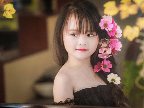 Bé gái Tuyên Quang như thiên thần  1