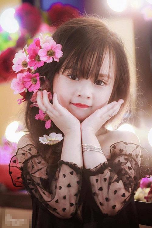 Bé gái Tuyên Quang như thiên thần  14