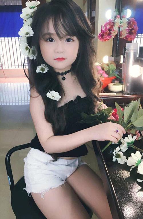 Bé gái Tuyên Quang như thiên thần  3