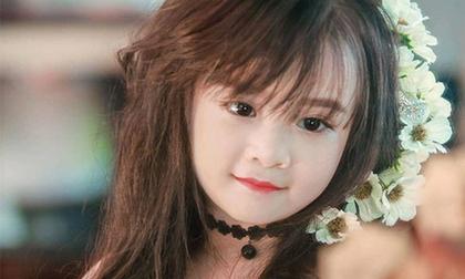 Gương mặt đẹp tựa 'thiên thần' của bé gái Tuyên Quang