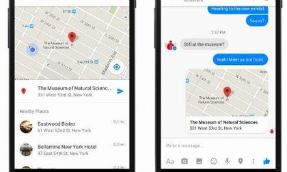 Facebook Messenger tắt theo dõi vị trí tự động