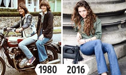 Xu hướng thời trang 'bà ngoại' vượt thời gian quay trở lại