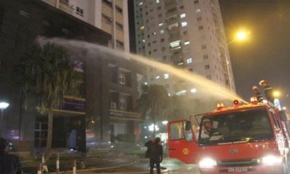Hỏa hoạn tại trường mầm non trong chung cư 25 tầng