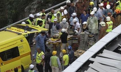 Sập cầu ở Malaysia, 1 công nhân Việt Nam tử nạn