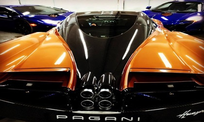 Minh Nhựa khoe ảnh siêu xe Pagani Huayra 78 tỷ đồng đẹp khó cưỡng