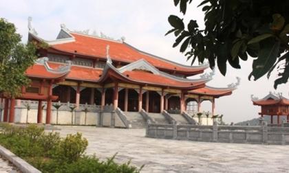 Thanh Hóa: Đền thờ 150 tỷ chưa hết bảo hành đã xuống cấp