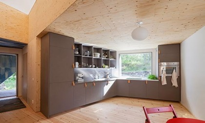 Thiết kế nhà giá thấp nhưng vô cùng độc đáo ở Thụy Điển