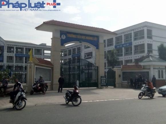 Trường tiểu học Hoàng Liệt, Hoàng Mai, Hà Nội (ảnh: Thu Thủy).