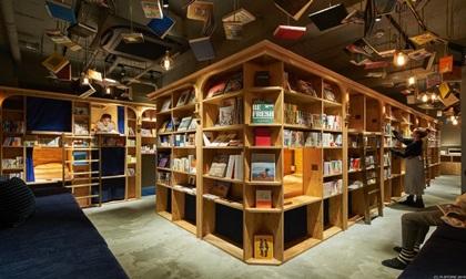 Khách sạn sách độc đáo ở Kyoto, Nhật Bản
