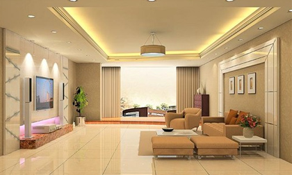 Bí quyết trang trí phòng khách sang trọng và ấn tượng