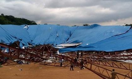 Sập nhà thờ ở Nigeria, 160 người thiệt mạng