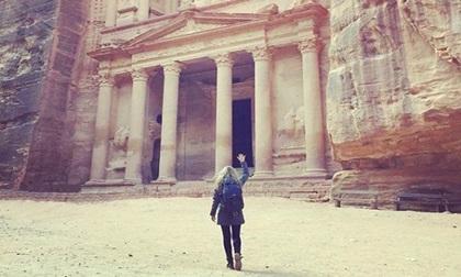 Chuyến thăm quan 7 kỳ quan thế giới trong 13 ngày của cô gái