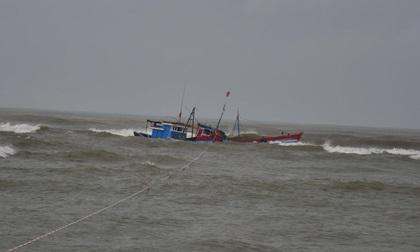 Áp thấp nhiệt đới suy yếu khi đi vào Ninh Thuận
