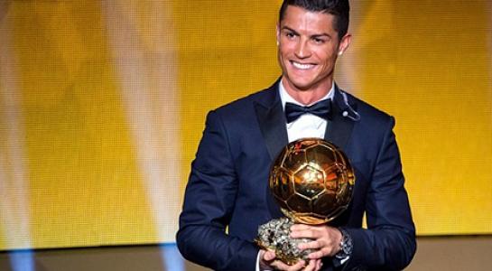 Cristiano Ronaldo đoạt Quả bóng vàng 2016