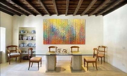 Trang trí nhà bằng tranh nghệ thuật hiện đại