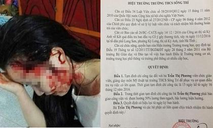 Hà Tĩnh: Vụ lôi thiếu nữ lên taxi hành hung, đình chỉ công tác một nữ giáo viên