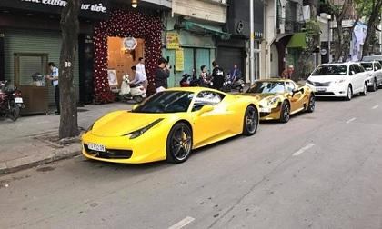 Choáng với đoàn rước dâu toàn siêu xe sang chảnh ở Sài Gòn
