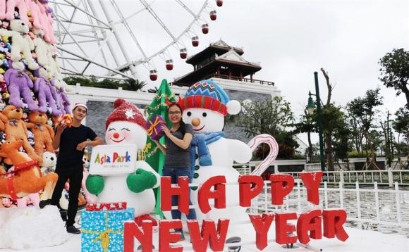 Tận hưởng Thiên đường giáng sinh 2016 tại Asia Park