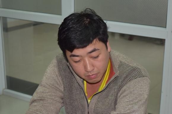 Đối tượng Nguyễn Hoàng Tâm bị lực lượng CATT Huế phối hợp bắt giữ.