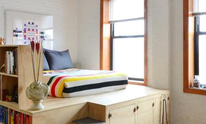 Giường trên cao - Giải pháp thông minh cho căn phòng nhỏ