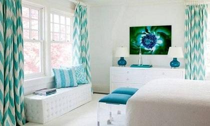 Treo rèm hợp phong thủy mang vượng khí vào nhà