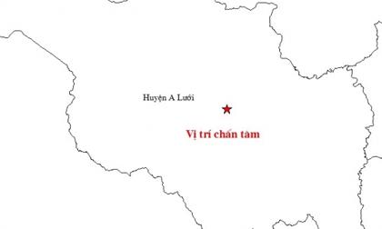 Thừa thiên - Huế: Liên tiếp 3 trận động đất trong hơn 5 tiếng