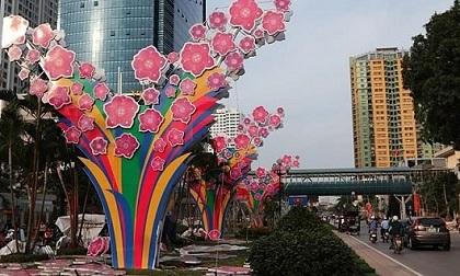 Hà Nội trang trí đường phố đón Tết 2017: Tinh tế và sang trọng