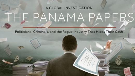 """Ngày 10/5, Hiệp hội Các nhà báo điều tra quốc tế (ICIJ) đã công khai nội dung tập tài liệu mang tên """"Hồ sơ Panama"""", theo đó, ICIJ tiết lộ tên và thông tin về 200.000 công ty ở nước ngoài.   """"Hồ sơ Panama"""" được cho là vụ tiết lộ tài liệu mật lớn nhất trong lịch sử, phanh phui các hoạt động tài chính bất hợp pháp liên quan đến nhiều nhân vật giàu có và quyền lực trên thế giới. (Ảnh: ICIJ)"""
