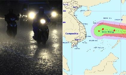 Đêm nay miền Bắc mưa dông, biển Đông khả năng bão đổ bộ