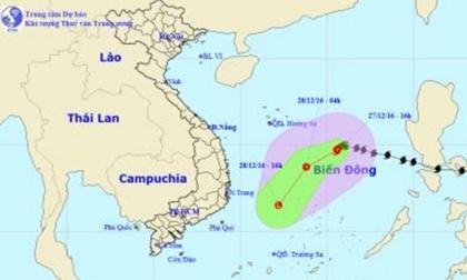 Bão Nock-ten đi vào biển Đông, trở thành cơn bão số 10 trong năm nay