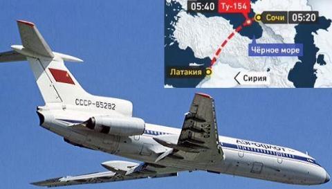 Sáng ngày 25/12, toàn bộ 92 người với phần lớn hành khách là một ban nhạc quân sự nổi tiếng đã rơi xuống biển Đen trên hành trình đi từ Sochi để tới Syria biểu diễn. Hiện nguyên nhân vụ tai nạn đang được giới chức Nga điều tra làm rõ. (Ảnh: Tass)