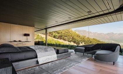 Thiết kế nhấn chìm vào cảnh quan tại Nam Phi