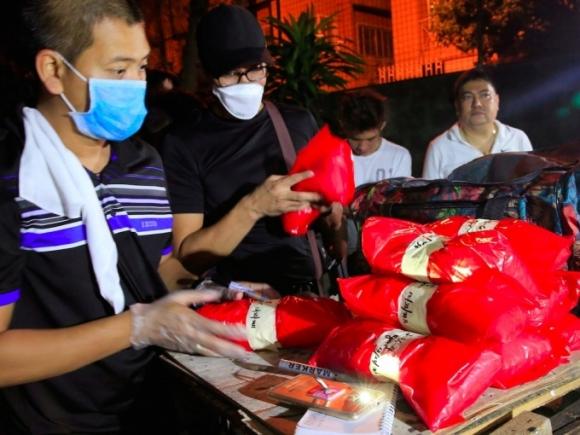 Philippines thu giữ gần 1 tấn ma túy đá. (Ảnh: Reuters)