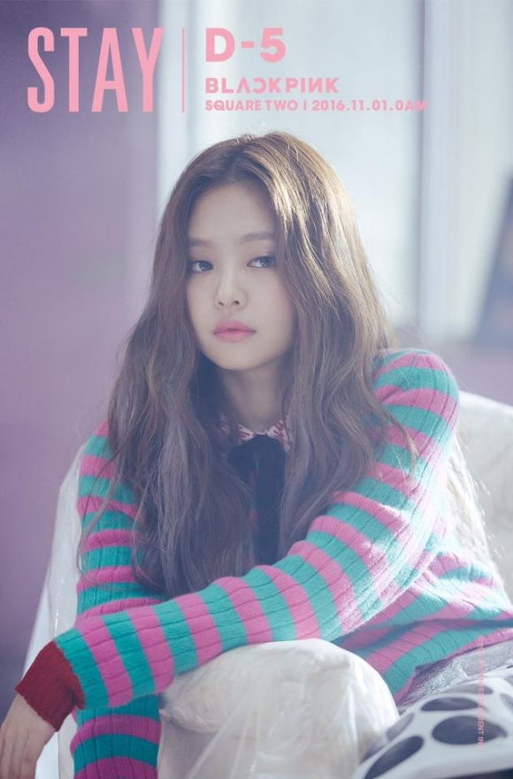 Thành viên mới Jennie Kim của nhóm nhạc BLACKPINK gây bất ngờ khi đứng ở vị trí thứ 22