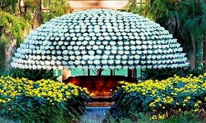 Tác phẩm nghệ thuật ngàn hoa đua nở ở Pennsylvania