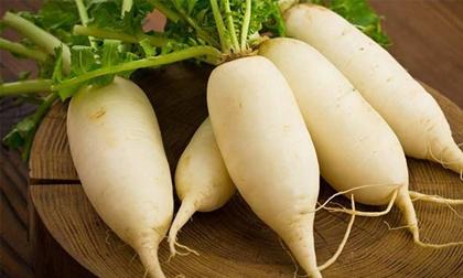 Hóa giải 6 bệnh nguy hiểm bằng củ cải trắng